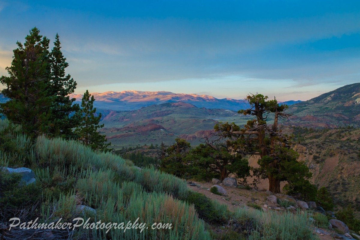 Day 45 – Toiyabe Nat Forest to Tahoe Nat Forest