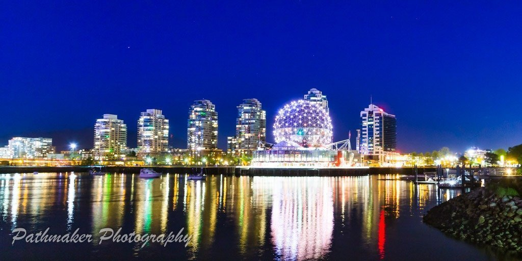 Vancouver Night Photos